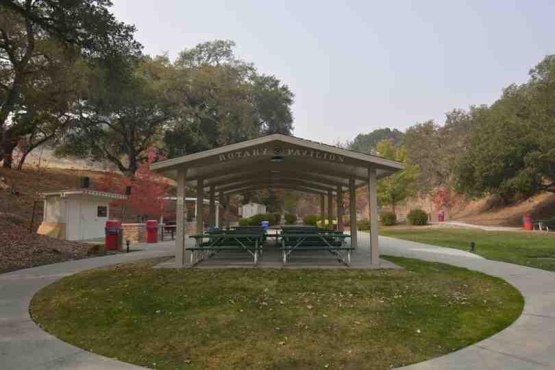 Hillside Rotary Pavillion Picnic Area